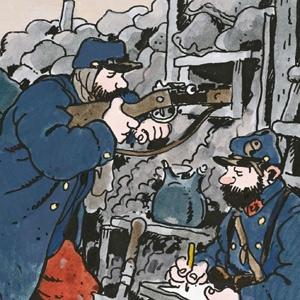 La Première Guerre mondiale illustrée en BD et en poésie   World War 1 through graphic novel and poetry